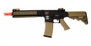 G&G CM18 MOD1 Combat Machine Airsoft Rifle, Black and Tan